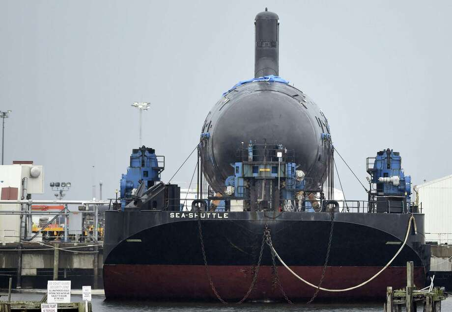 The Virginia class attack submarine Colorado in July 2015 at General Dynamics' Electric Boat plant in Groton, Conn. Photo: Sean D. Elliot / Associated Press / THE DAY