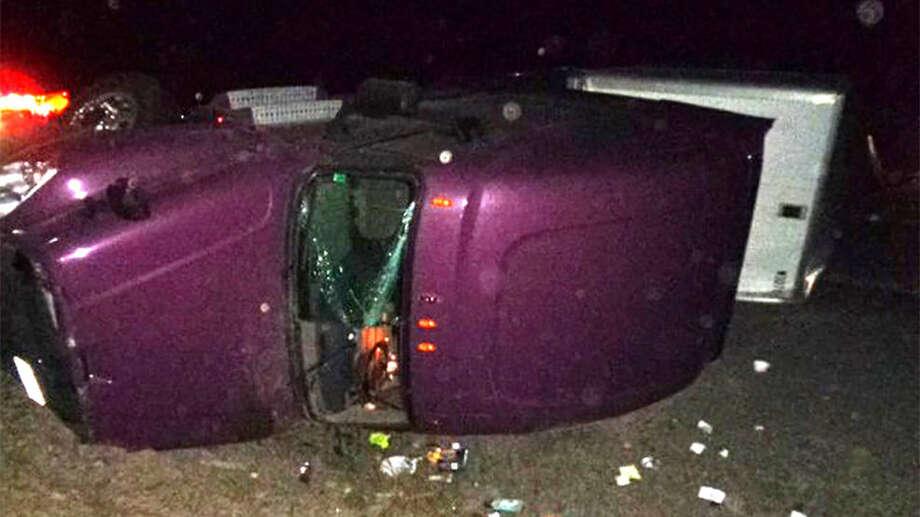 Elk blamed for overnight rollover crashes on I-90 near Cle Elum