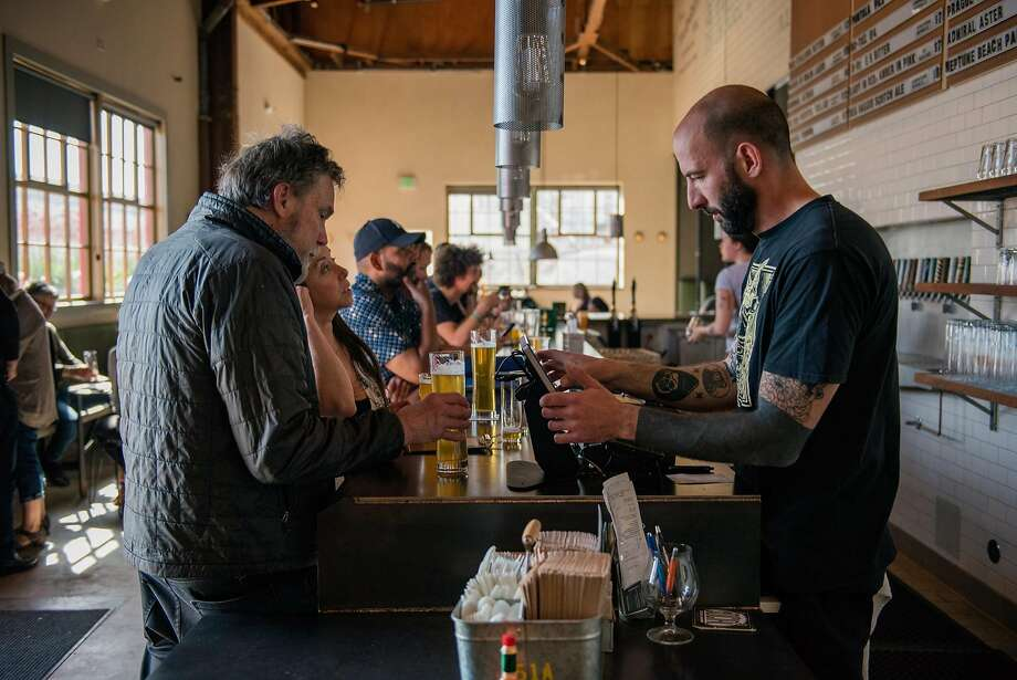 The Rake taproom in Alameda. Photo: Rosa Furneaux / Special To The Chronicle