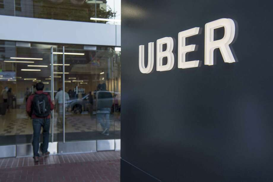 FILE-- Uber's chief human resources officer has abruptly stepped down. Liane Hornsey told employees in an email Wednesday, July 11, that she is leaving the company but gave no reason. The email was obtained by The Associated Press. Hornsey writes that employees may think the decision came out of the blue, but she has been thinking about leaving for a while. Photo: Bloomberg Photo By David Paul Morris / © 2017 Bloomberg Finance LP