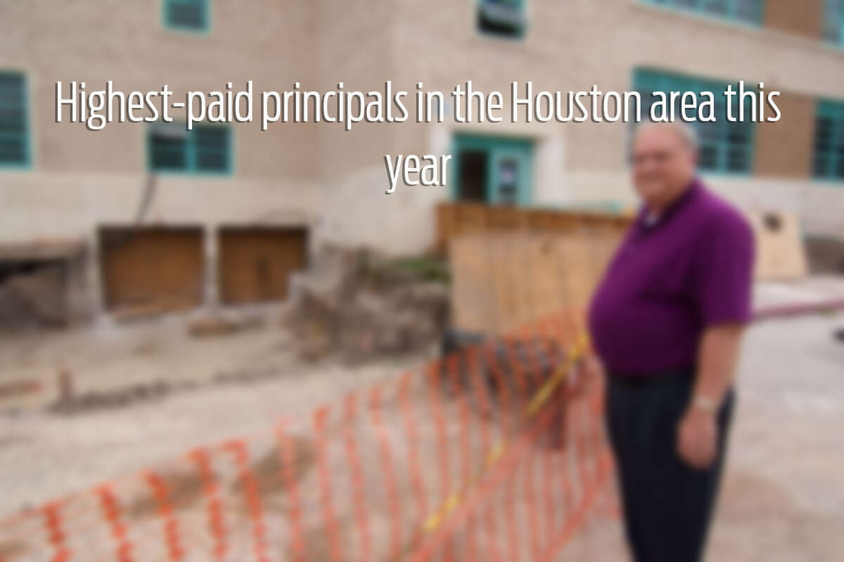 Swipe through to see the highest paid principals in the Houston area.