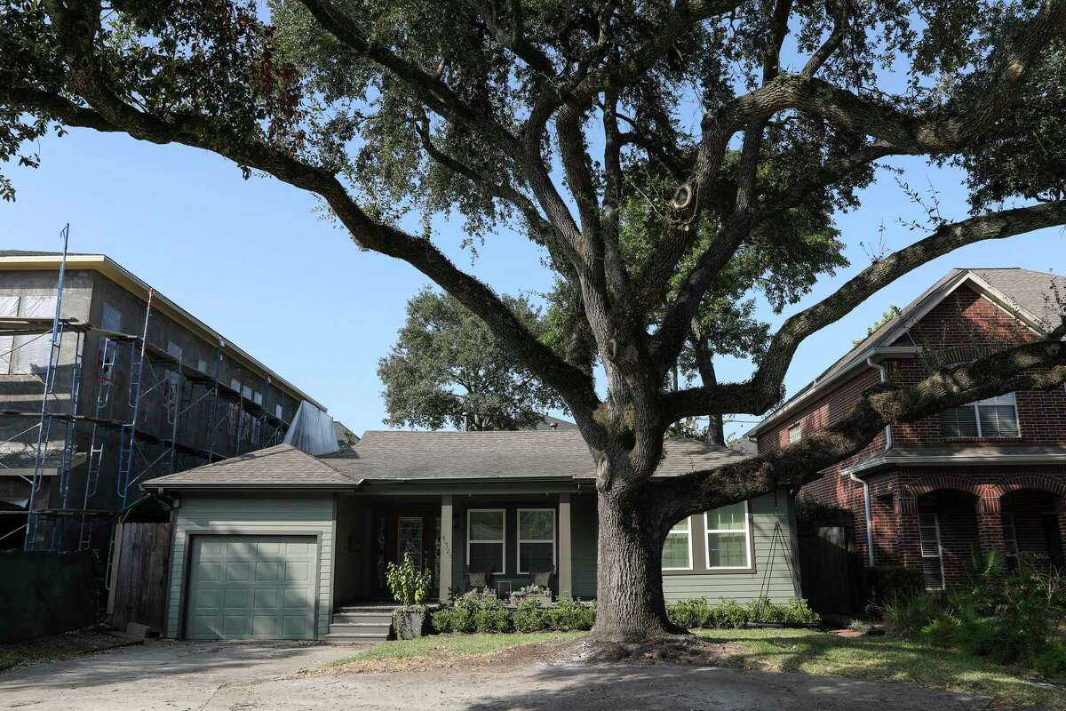 A new Texas law that went into effect on Wednesday, Jan. 1, could benefit homeowners whose homes have been affected by a disaster, as declared by the governor. This home on Oleander St. in Bellaire was affected in August 2017 by Hurricane Harvey.