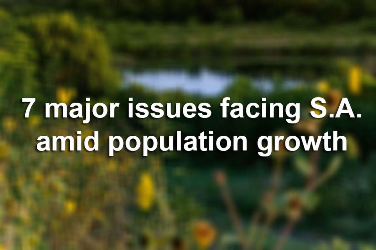 Keep clicking to see 7 major issues facing San Antonio amid population growth.
