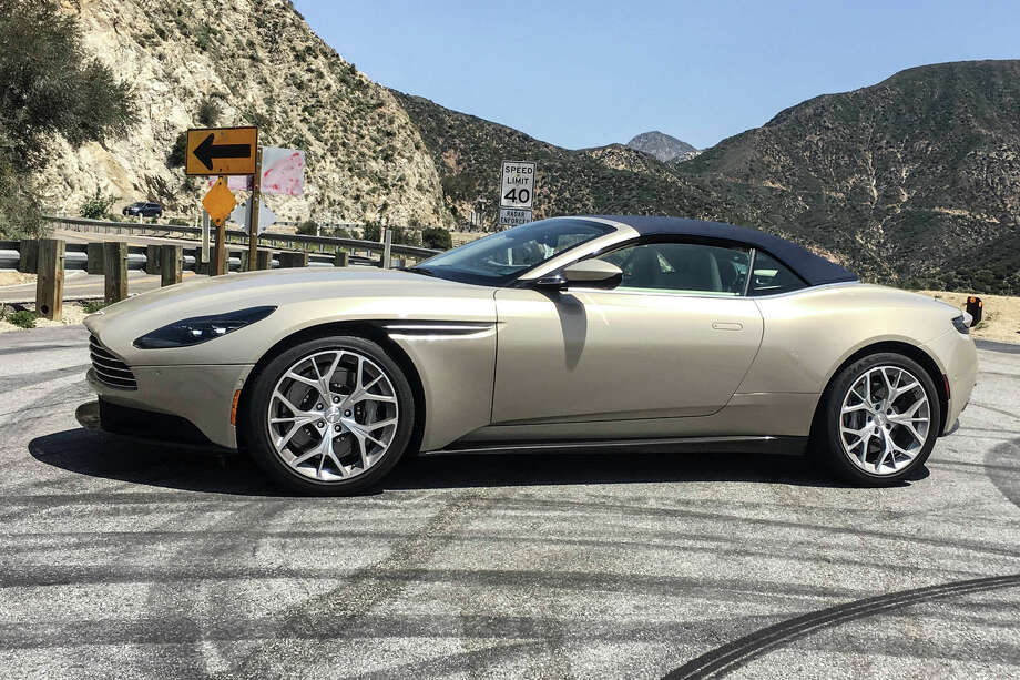 Its Easy To Make Mistakes In A Aston Martin DB Violante - Aston martin houston