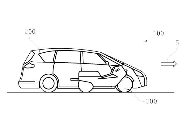 "Ford has filed a patent for a ""Vehicle with an integrated electric motorcycle,"" to help drivers navigate congested cities."