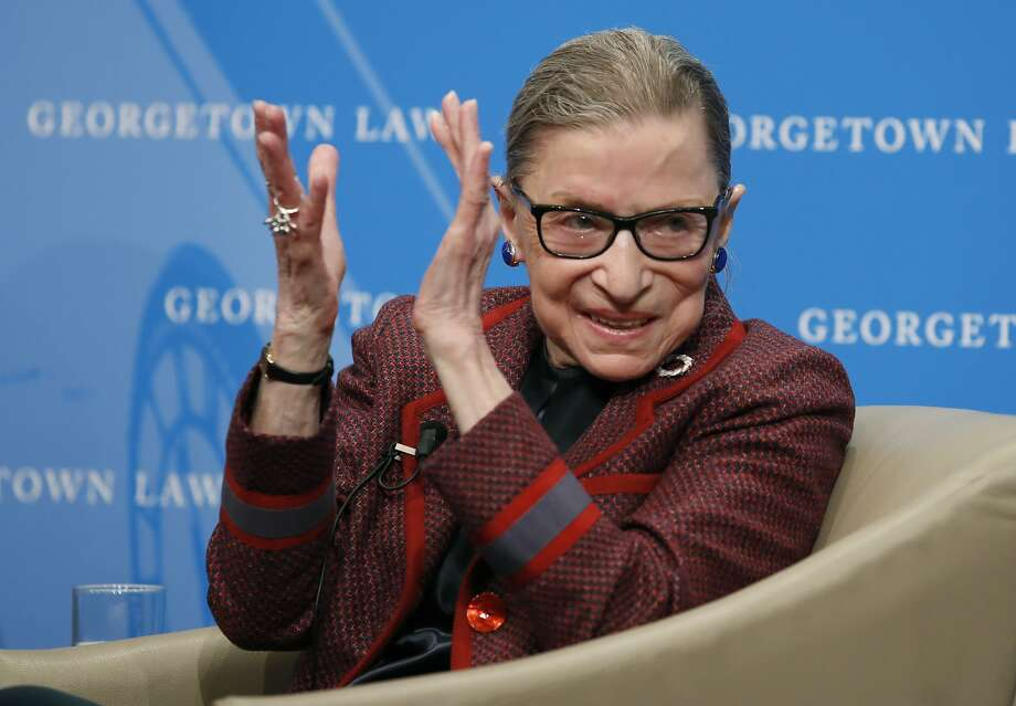 Ruth Bader Ginsburg was appointed to the Supreme Court in 1993. Photo: Alex Brandon / Associated Press