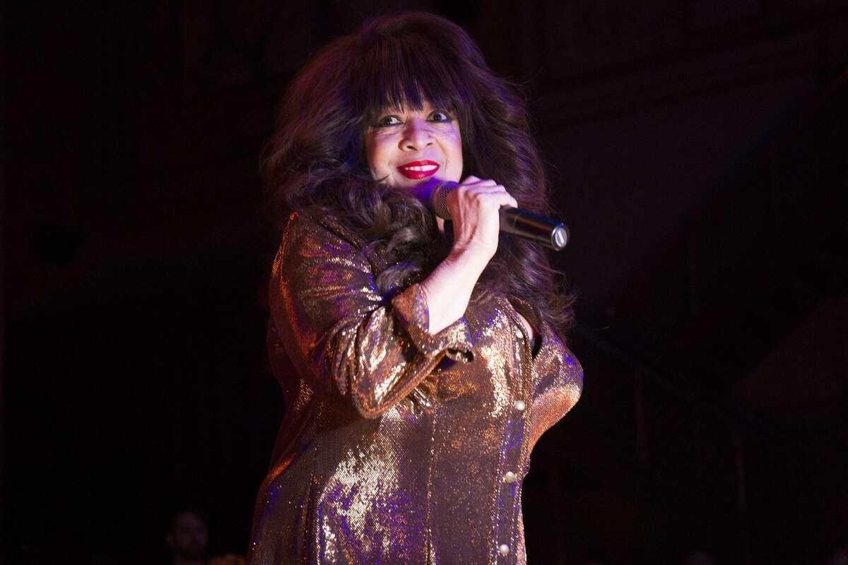 Ronnie Spector performs onstage during the Alcone Company 65th Anniversary Gala at Capitale on November 10, 2017 in New York City.