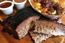 Beef brisket and brisket mac and cheese from Smoke Shack on Broadway will be available at the new location set to open by the end of the year inside the San Antonio International Airport.