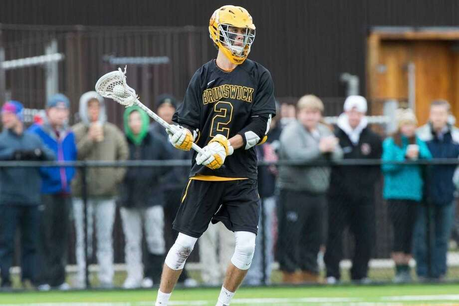 Brunswick School senior attack Xander Dickson was named to the Under Armour All-American Lacrosse team. Photo: Contributed Photo