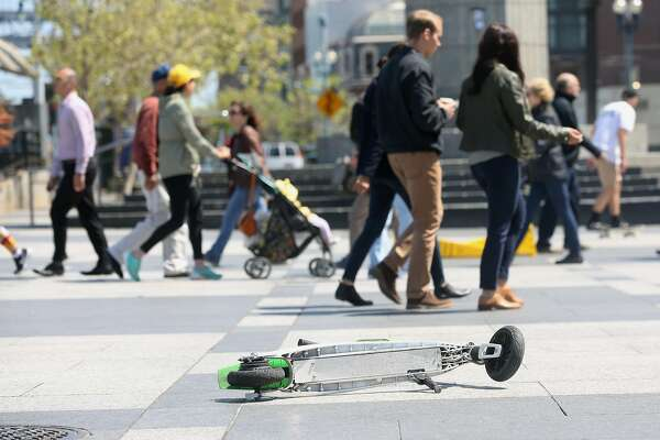 Scooter Rental San Francisco >> Scooter Skirmish Sf Places Limits On Rental Companies Sfchronicle Com