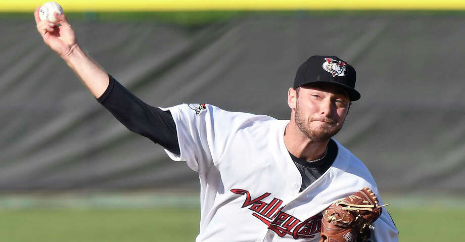 PHOTOS: Astros' top prospects Corbin Martin will make his Class AA debut on Thursday night, starting for the Corpus Christi Hooks against Midland. Browse through the photos to see the Astros' top prospects in 2018. Photo: Hans Pennink/Times Union