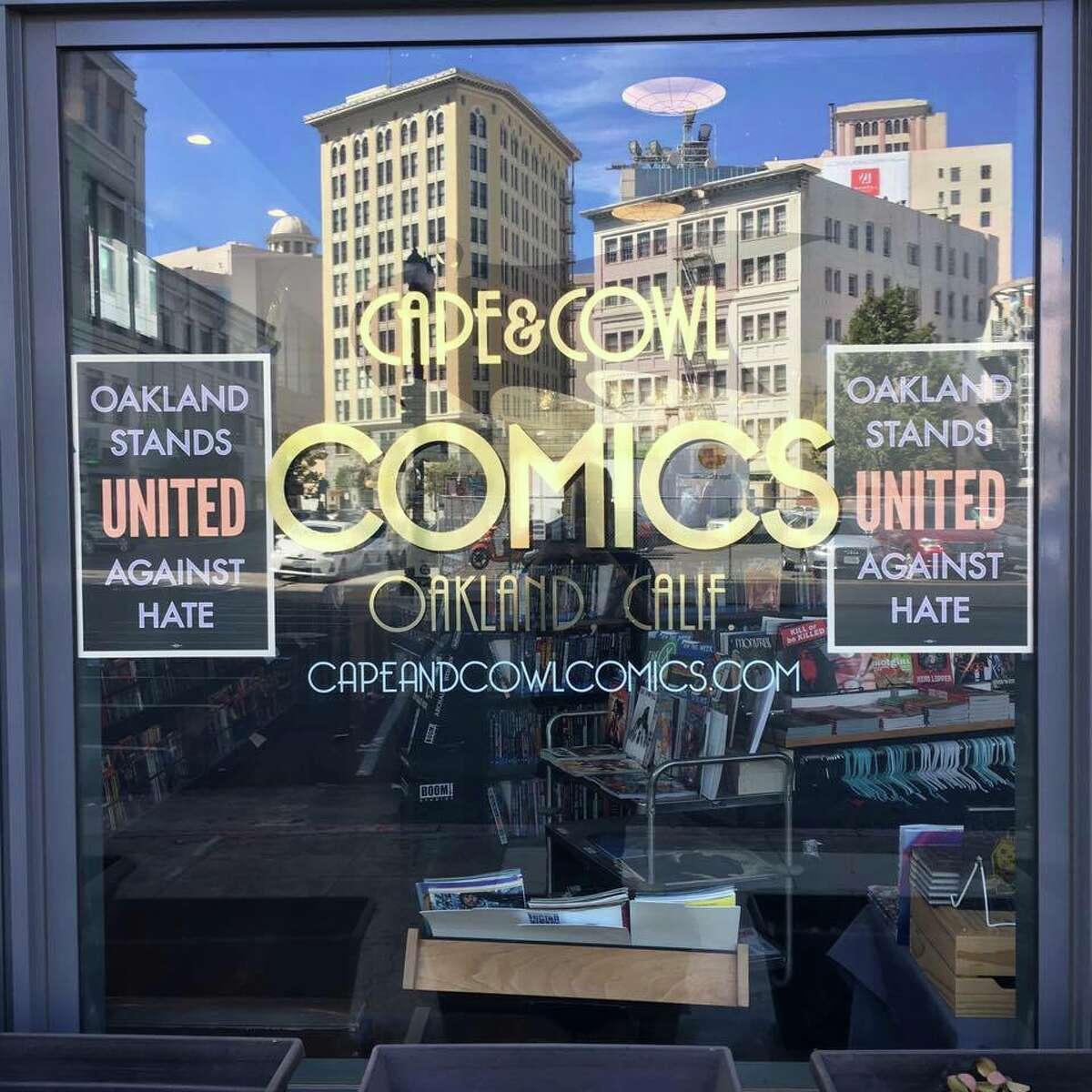 Oakland comic shop Cape & Cowl.