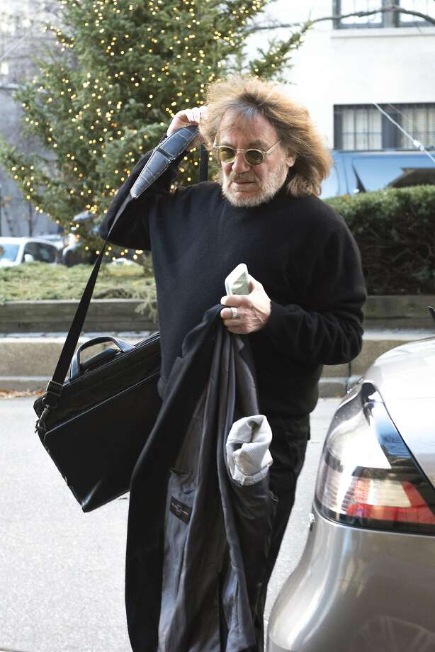 In a December 2015 file image, Dr. Harold Bornstein, the one-time personal physician to Donald Trump, arrives at his New York office. (Joe Marino/New York Daily News/TNS) Photo: Joe Marino, TNS