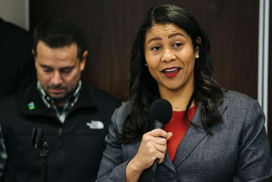 President of the San Francisco Board of Supervisors, London Breed, holds a press conference for plans to help mitigate activities for the annual 4/20 celebration at the Golden Gate Park in San Francisco, Calif., Tuesday, April 17, 2018. Photo: Mason Trinca / Special To The Chronicle