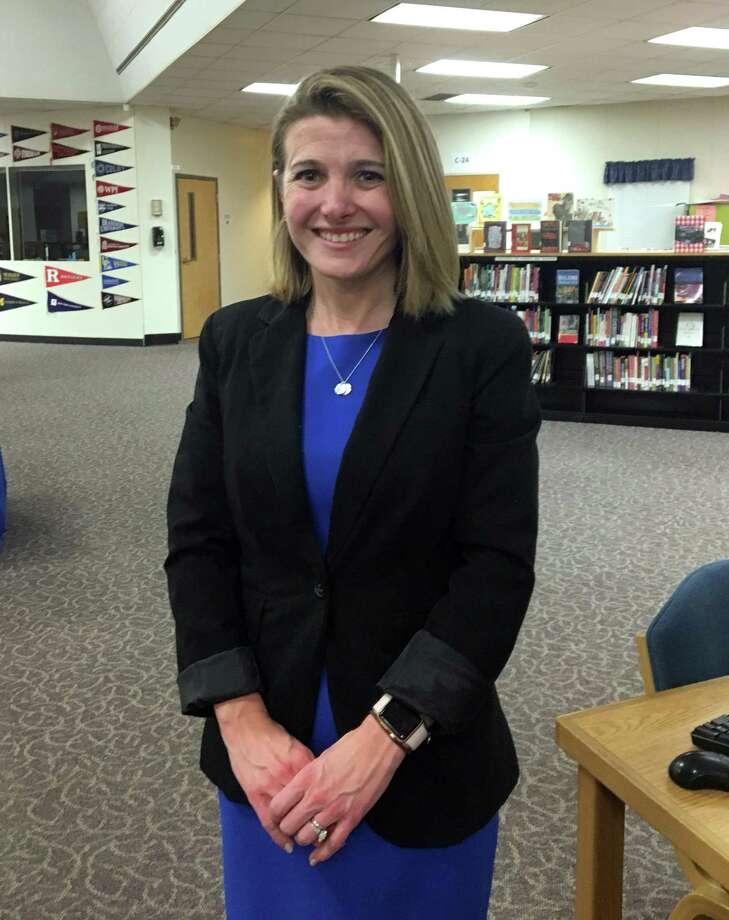 Megan Bennett  new Region 12 superintendent. Photo: Katrina Koerting / Hearst Connecticut Media / The News-Times