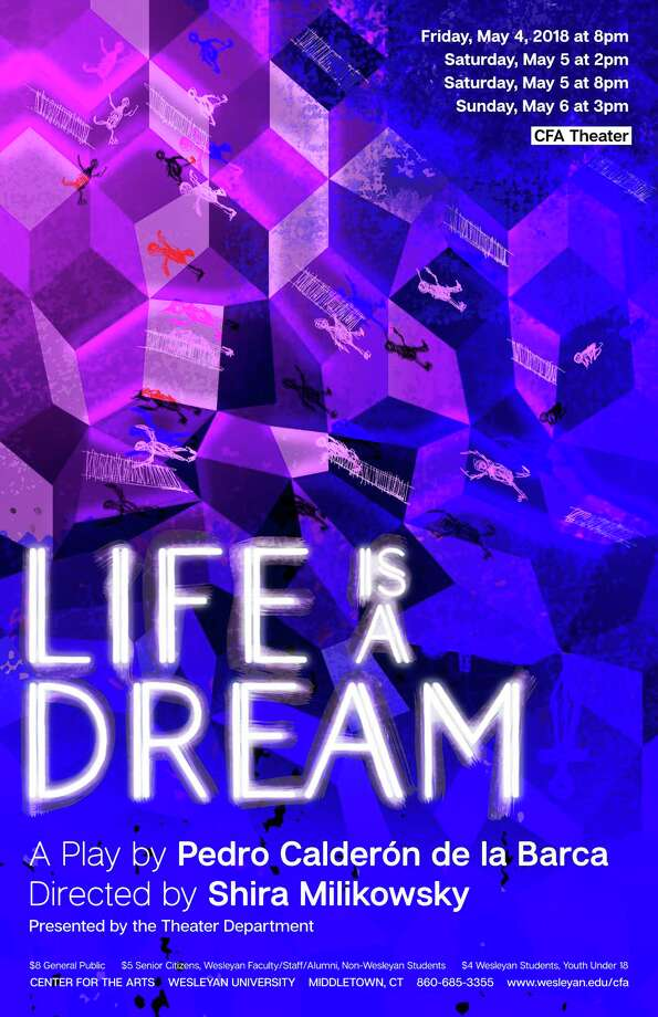 """""""Life is a Dream"""" will be performed at Wesleyan University May 4-6. Photo: Contributed Photo"""