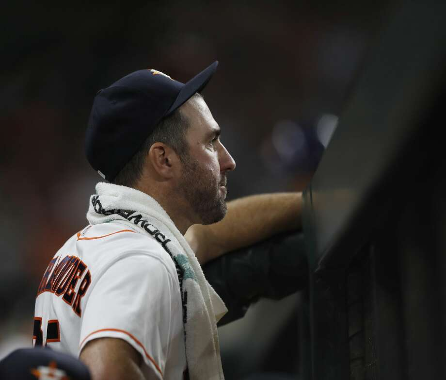 Justin Verlander is looking to improve to 10-0 since joining the Astros last Aug. 31. Photo: Karen Warren/Houston Chronicle