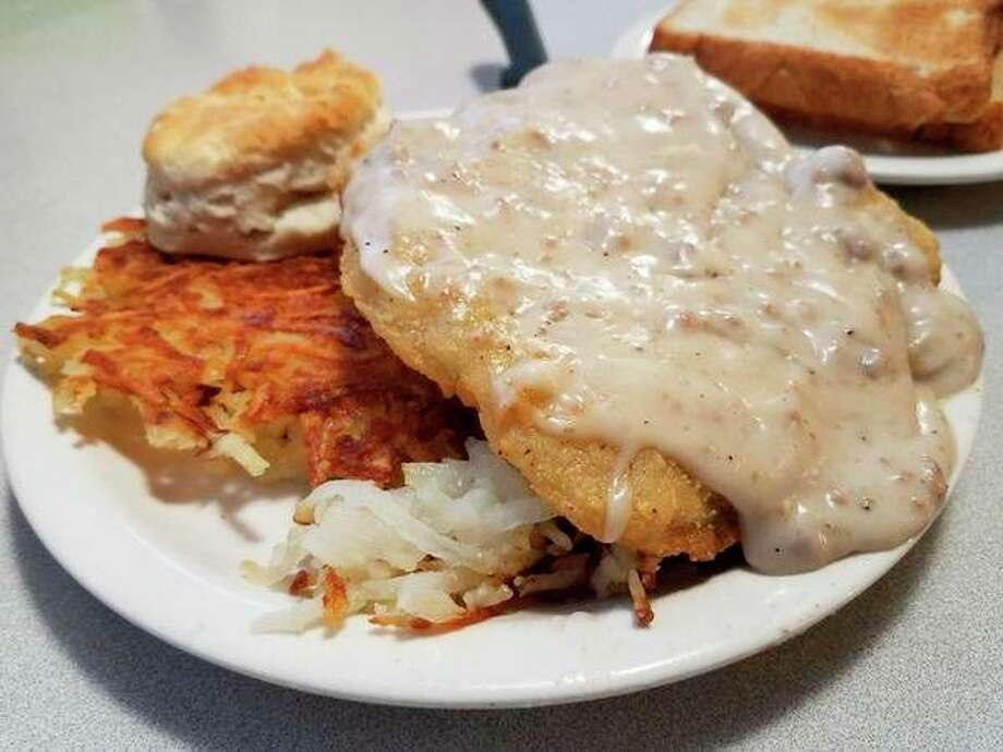 Out To Lunch The Stock Pot Diner S Country Fried Steak Midland Daily News