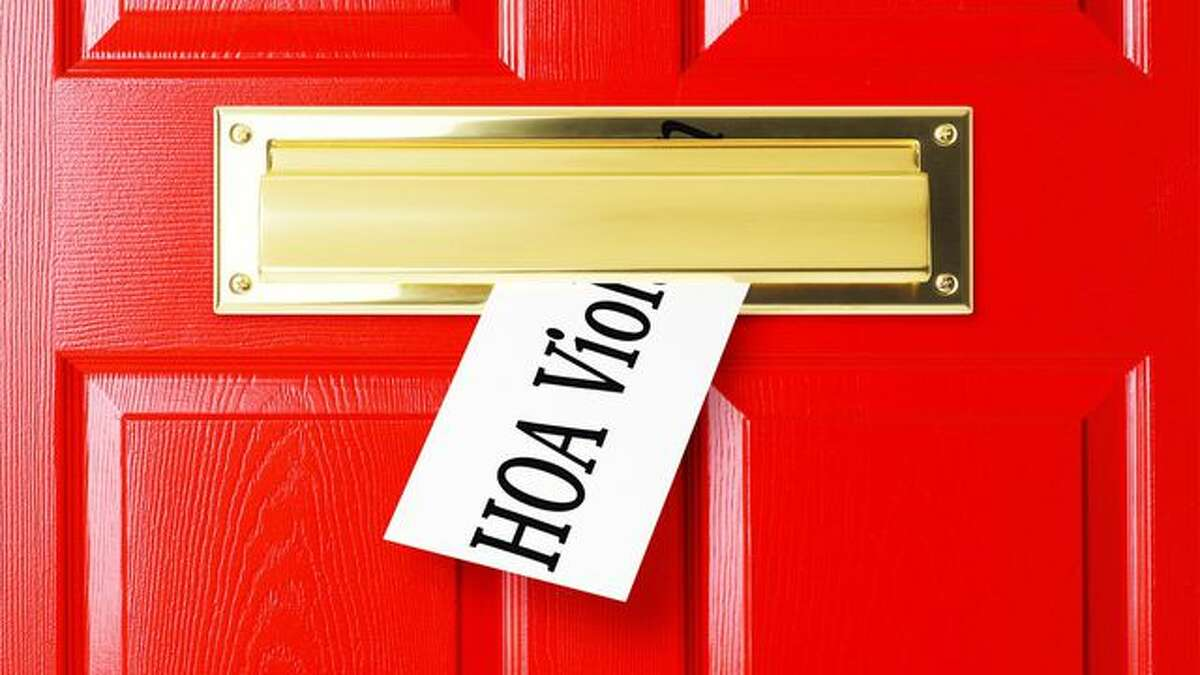 Continue through the photos to see the ways your HOA might be breaking the law.