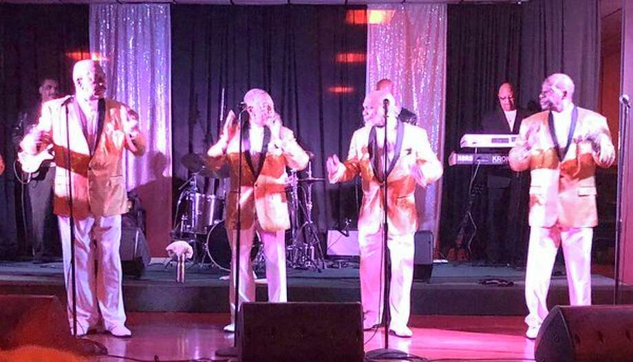 The band, Serieux, was a hit Friday night during a concert at the Franklin Inn in Bad Axe. The Temptations tribute band has performed all around the globe. This was the group's second performance in the Thumb, as it previously performed in Caseville. (Kate Hessling/Huron Daily Tribune)