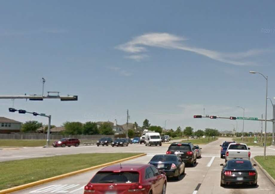 When the light turns green, the race to the Beltway begins on Pearland Parkway. What's the worst street in your neighborhood for speeding drivers? Chron.com readers share their picks. Photo: Google Earth