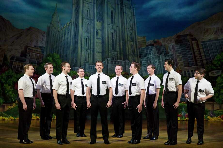 """""""The Book of Mormon"""" has gamboled across the Majestic Theatre stage a few times, and the current troupe is every bit as marvelous as the others. The giddily profane show follows a pair of young Mormons — earnest and confident Elder Price (well-played by Kevin Clay) and the rumpled, off-kilter Elder Cunningham (the utterly fantastic Conner Pierson) — on their life-changing mission to Uganda. It is giddily profane with a deeply humane heart. It is definitely worth catching for newbies and folks who have caught it in the past. 8 p.m. Friday, 2 and 8 p.m. Saturday and 2 and 7:30 p.m.  Sunday, Majestic Theatre, 224 E. Houston St. $39.25 to $109.25 at the box office  and at ticketmaster.com. Info, majesticempire.com. -- Deborah Martin Photo: Courtesy Julieta Cervantes, Photo: Julieta Cervantes / Copyright 2017 Julieta Cervantes"""