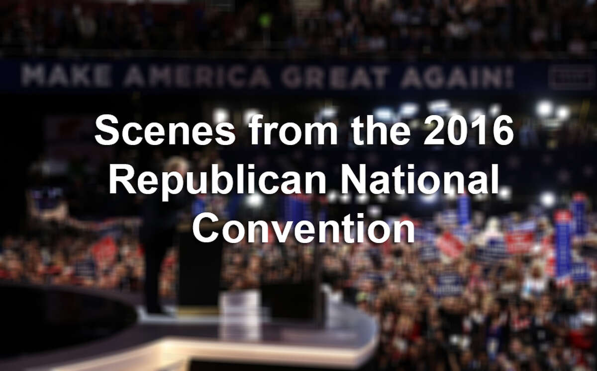 Click ahead to see photos from the 2016 Republican National Convention, hosted in Cleveland, Ohio.