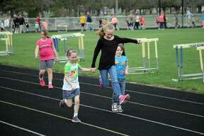 Bad Axe Elementary students got outdoors Wednesday morning, for the annual All Children Exercise Simultaneously (ACES) event.