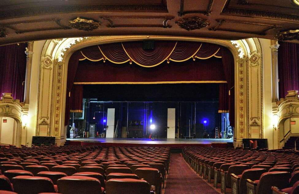 Renovation of the stage is included in the $65 million renovation and expansion of the Palace Theatre announced Wednesday July 13, 2016 in Albany, NY. (John Carl D'Annibale / Times Union)