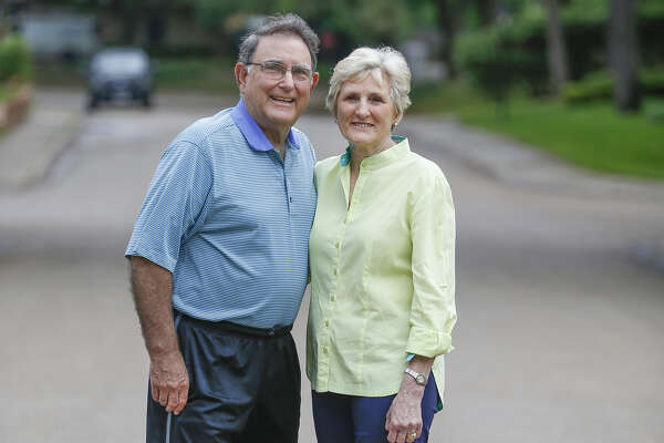 Jan and Ershel Redd's home served as a safe haven for their flooded Briargrove neighbors.