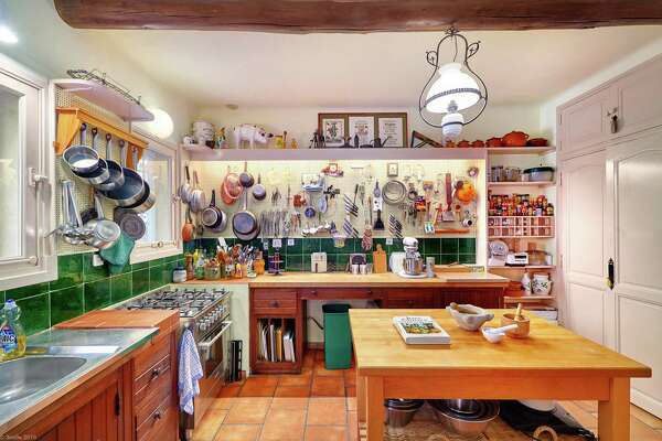 1of 20in provence france la pitchounes cottage accommodates just six guests the perfect amount for julia childs small kitchen a replica of the kitchen - Kitchen In French