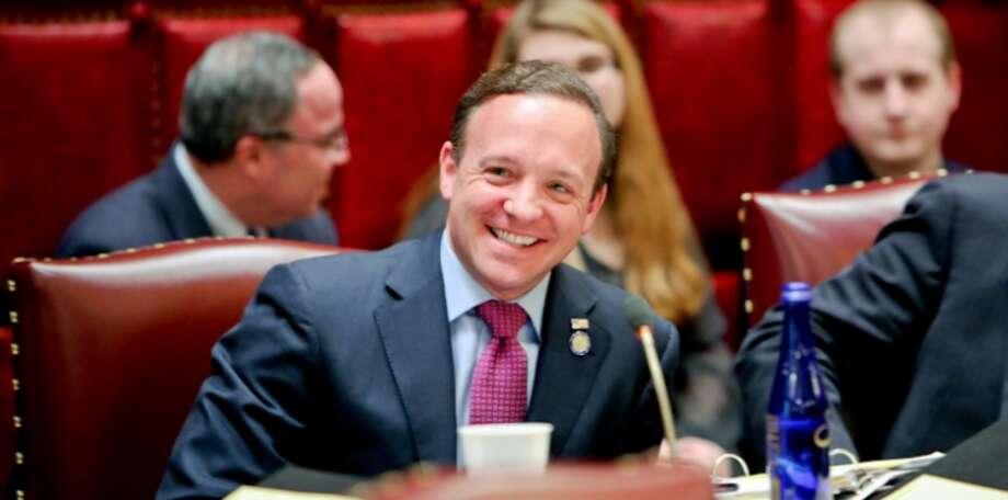 Sen. Tom Croci in the Senate chamber (NYSenate)
