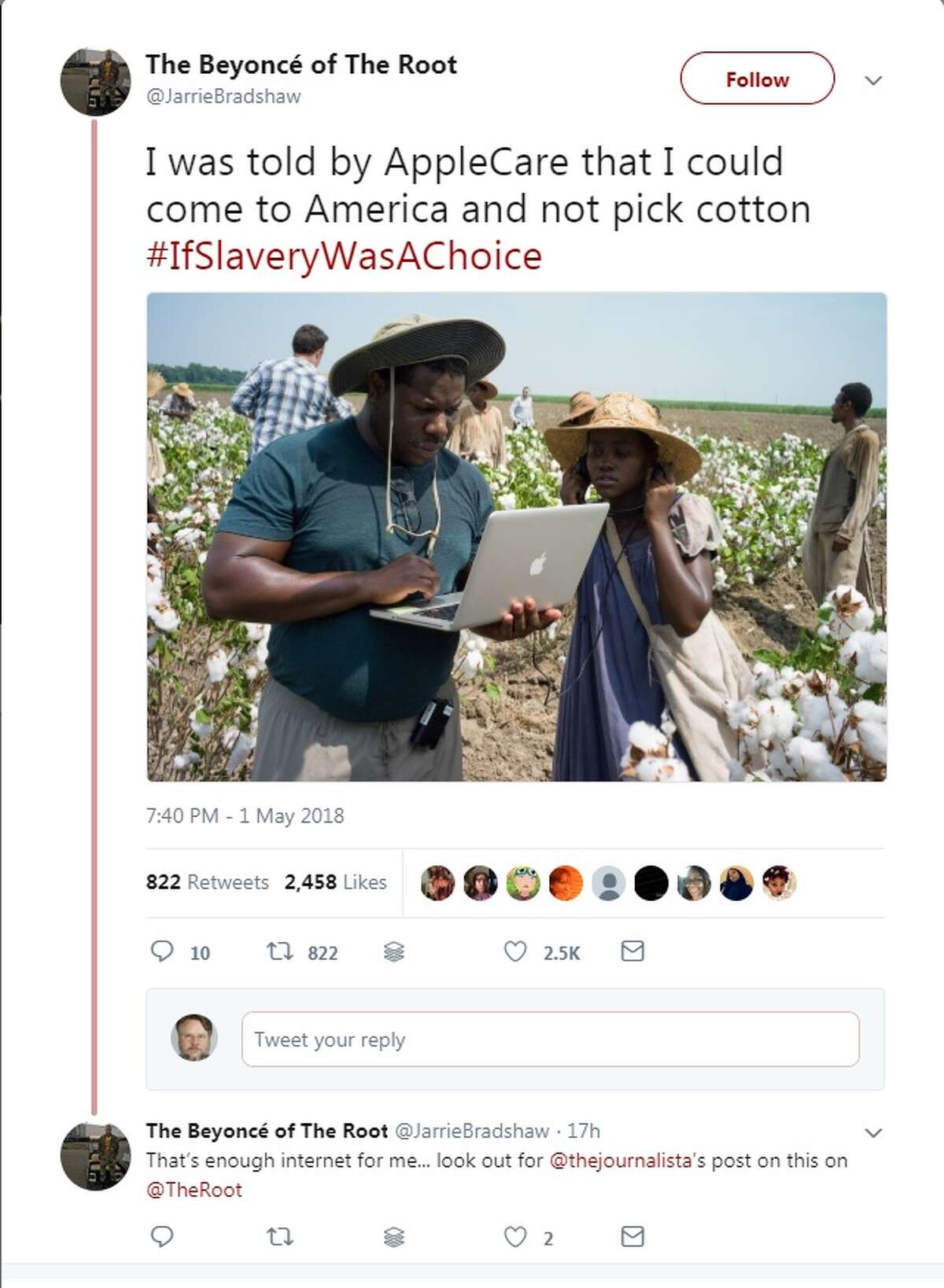 Kanye West was relentlessly mocked by a new hashtag - #IfSlaveryWasAChoice - after saying on