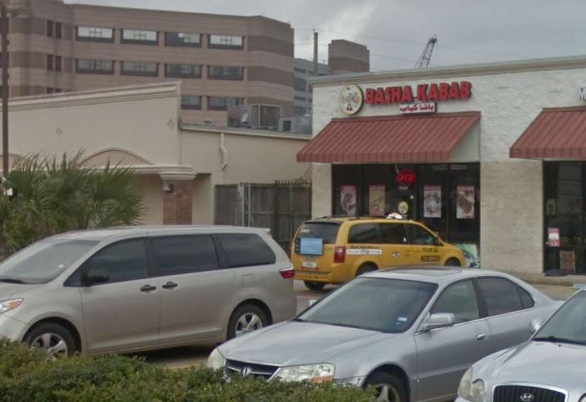 Nizar Basha Kabob 2807 Old Spanish Trail Houston, TX 77054 Demerits: 31 Inspection Highlights: Routinely inspect premises for evidence of (insects / rodents). Observed large quantities of roaches in:service counter inside drawers, inside single use utensils, between refrigerator gaskets, inside oven, on top of dish washing machine.