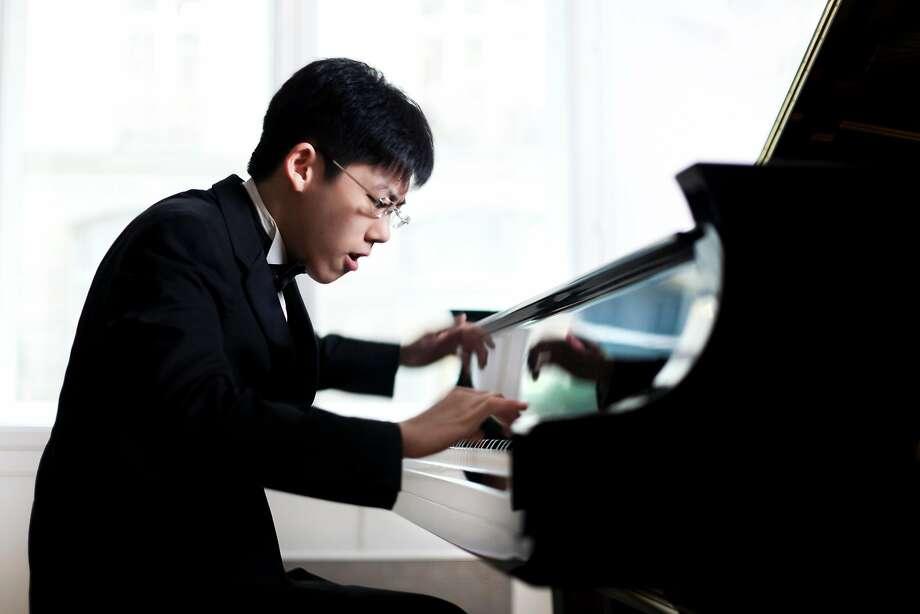 Haochen Zheng was the California Symphony's finishing touch. Photo: Benjamin Ealovega