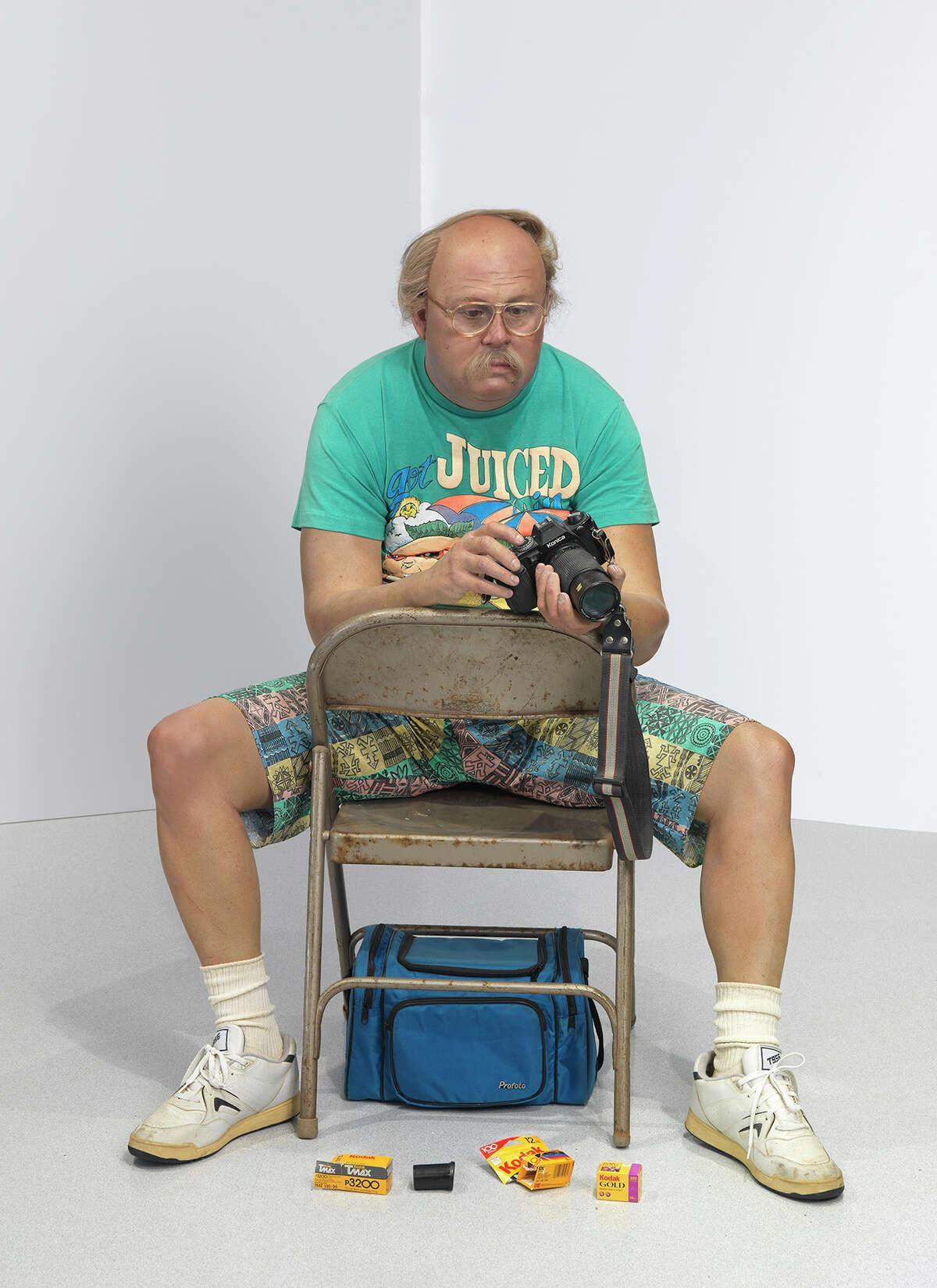 "Duane Hanson's ""Man with Camera"" (1991-92)"