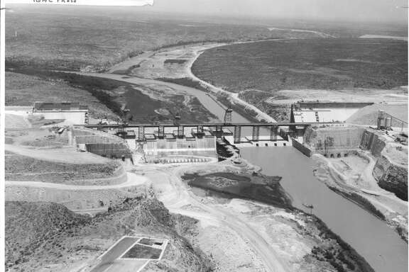 Giant Amistad Dam expected to be completed in 1969 Project built on friendship between United States and Mexico Corpus, Jack Baughman