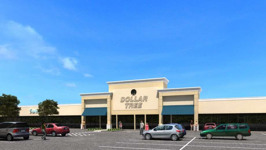 Renovations are under way at the Garden Oaks Shopping Center on North Shepherd at 38th Street. Photo: Hartman Income REIT Management