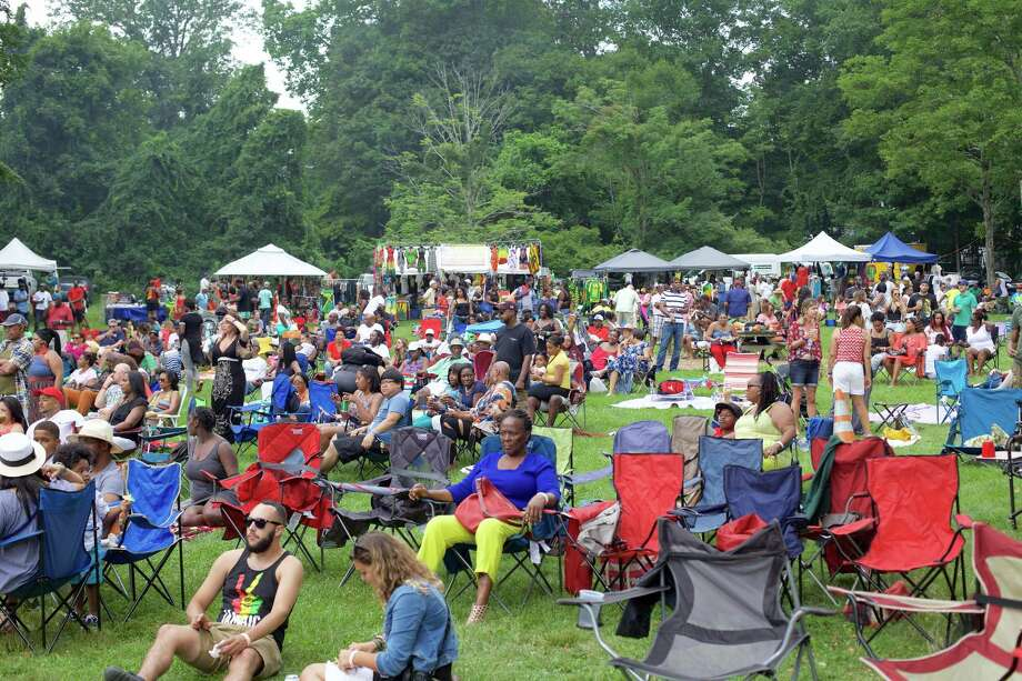 The Sixth Annual Westside Reggae Festival took place on Sunday, July 23rd, 2017, at Ives Concert Park in Danbury, CT. Photo: Trish Haldin / The News-Times Freelance