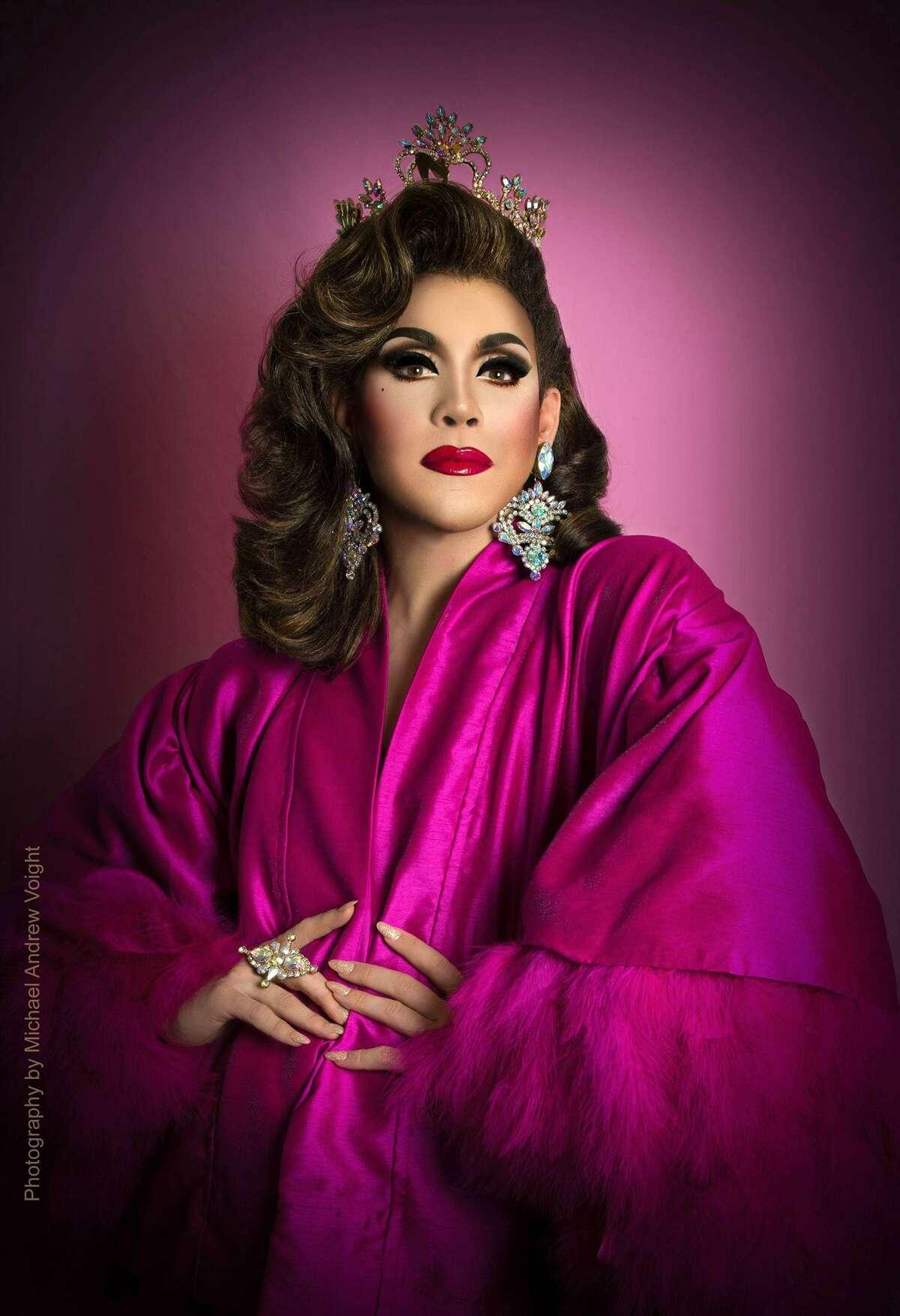 Violet S'Arbleu is Miss Gay Texas America 2017.