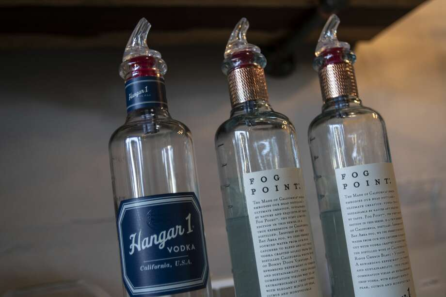 Hangar 1 Vodka's Fog Point vodka, made with water captured from San Francisco fog. Photo: Chris Preovolos