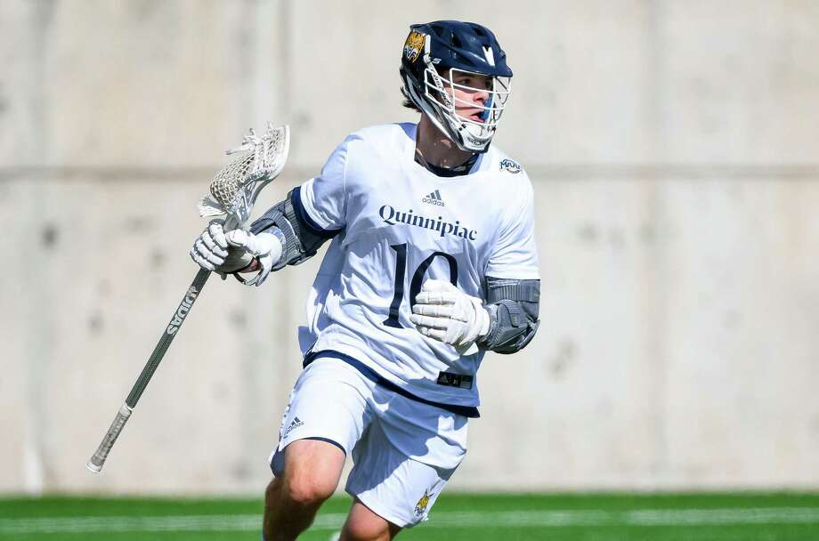 Quinnipiac junior attack Mike Fletcher has scored 25 goals and made 15 assists for the Bobcats this season. Spring 2018 Photo: Quinnipiac University Athletics / Quinnipiac University Athletics / Stamford Advocate Contributed