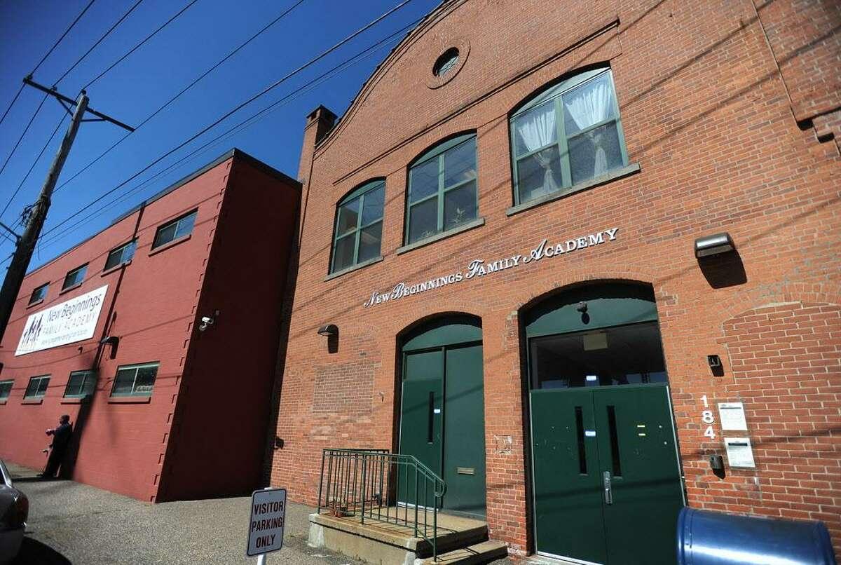 New Beginnings Family Academy charter school at 184 Garden St. in Bridgeport.