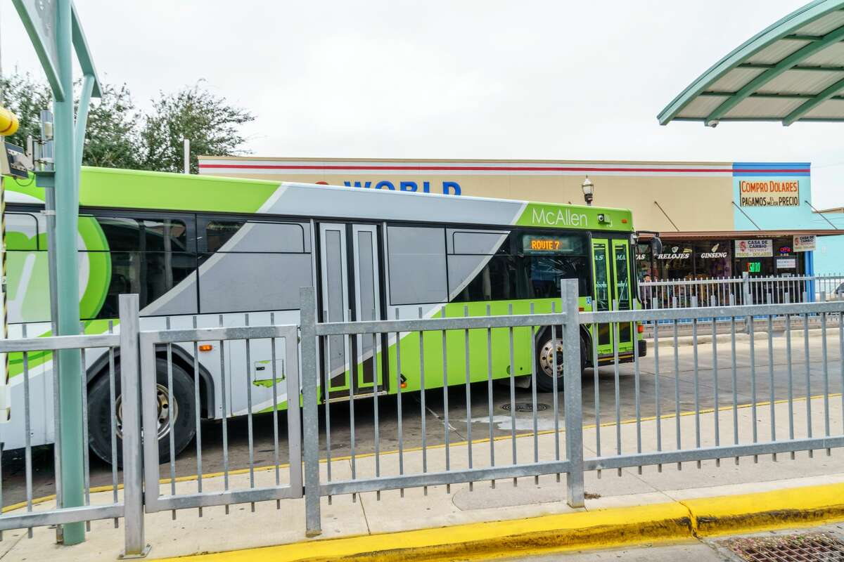Public transit - McAllen, Texas If you're an adult, a single bus trip will cost you just $1. Seven bus lines operate around the city.