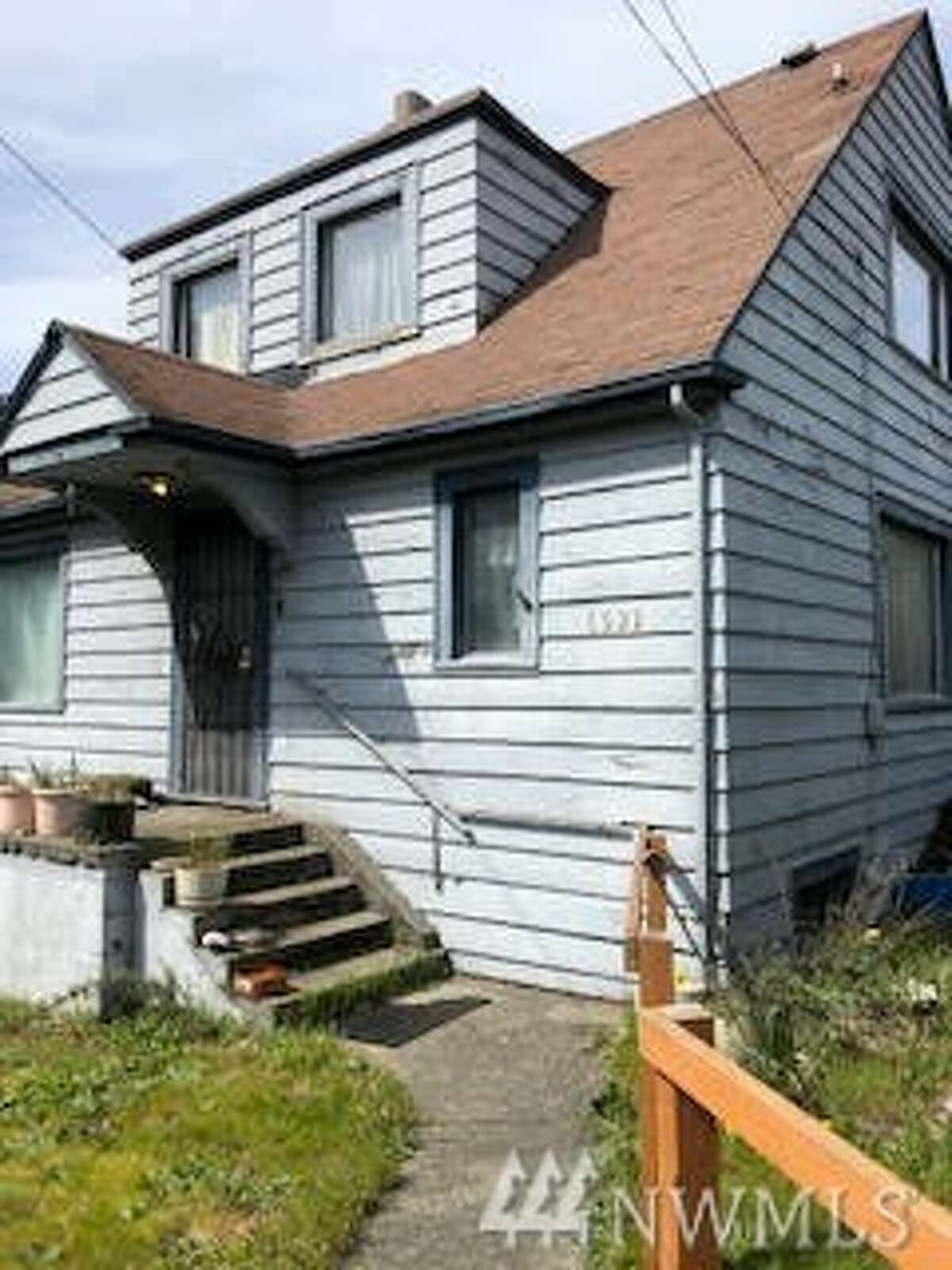 This house for sale in Seattle's Ballard neighborhood is listed as a possible tear-down, with