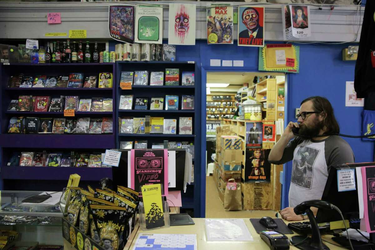 Scarecrow Video on Roosevelt Way NE is celebrating 30 years in business. The rental shop, which boasts over 131,000 titles (more than any other video store in the country), became a non-profit in 2014.