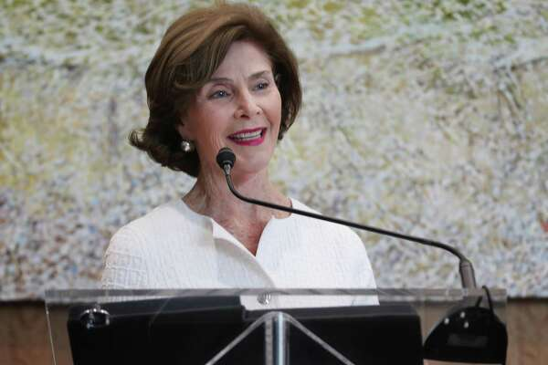 Former First Lady Laura Bush was on hand to announced the creation of the Houston Methodist Hospital Center for Health & Nature Wednesday, May 2, 2018, in Houston. The creation of a Center for Health & Nature, a first-of-its-kind attempt to investigate the therapeutic benefits of the great outdoors. ( Steve Gonzales / Houston Chronicle )