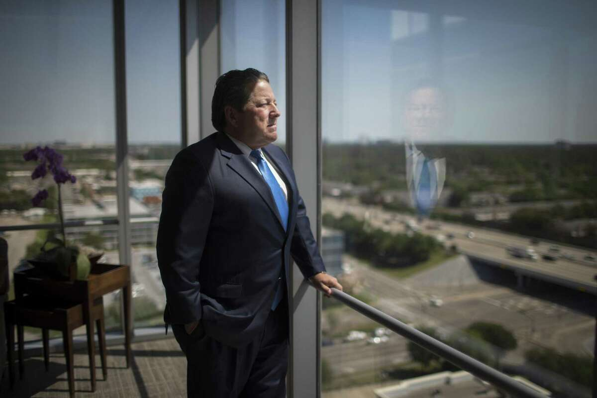 Matt McCarroll, is founder, President and CEO of Fieldwood Energy LLC, the largest operator on the Gulf of Mexico Shelf. The company recently emerged from bankruptcy protection. Thursday, April 19, 2018, in Houston. ( Marie D. De Jesus / Houston Chronicle )