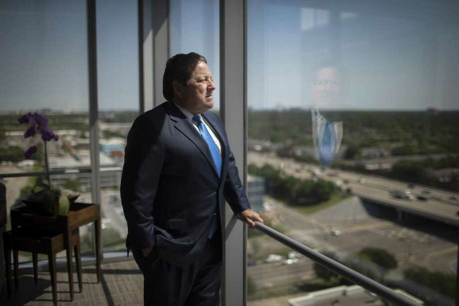 Matt McCarroll, is founder, President and CEO of Fieldwood Energy LLC, the largest operator on the Gulf of Mexico Shelf. The company emerged from bankruptcy protection. Thursday, April 19, 2018, in Houston.  NEXT: See N. American energy bankruptcies from 2017.  Photo: Marie D. De Jesus, Houston Chronicle / Houston Chronicle / © 2018 Houston Chronicle