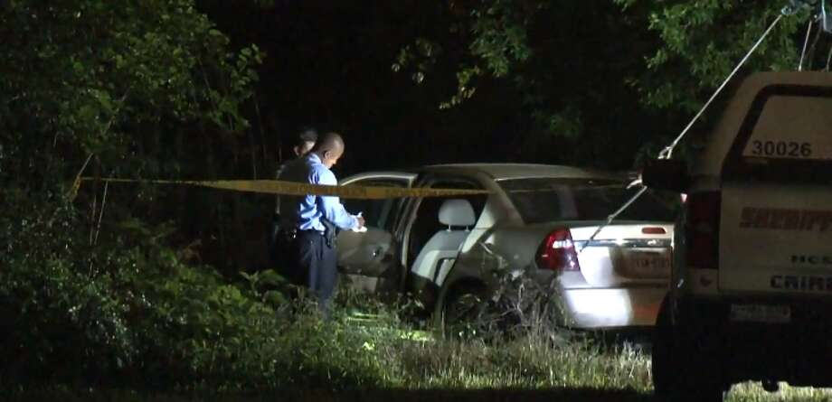 Galena Park police found a body near a bayou on on Tuesday, May 1,, 2018. Photo: Metro  Video